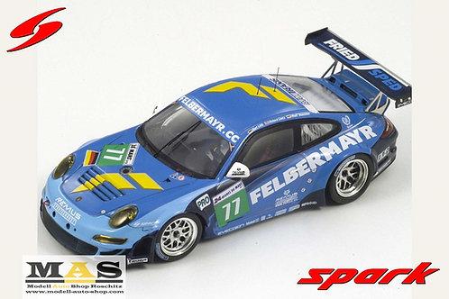 Porsche 997 GT3 RSR Felbermayr Lietz LiebHenzler 24h LeMans 2011 Spark 1/43