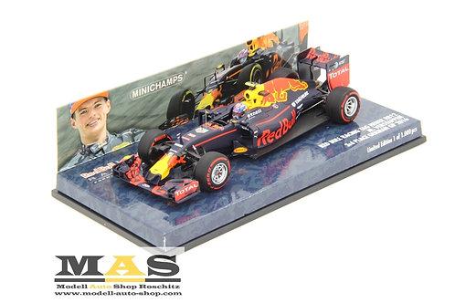Red Bull RB12 M. Verstappen 3rd German GP 2016 Minichamps 1/43