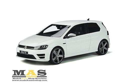 Volkswagen VW Golf 7 R 2014 weiß Otto Mobile 1/18