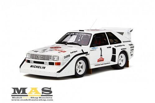 Audi Sport quattro S1 Olympus Rallye 1985 Otto Mobile 1/18