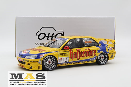 Peugeot 406 Super Touring Car Cup 1997 Otto Mobile 1/18