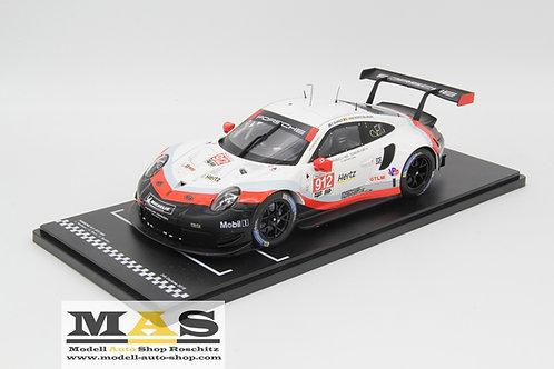 Porsche 911 991 RSR GT3 24h Daytona 2018 Bamber, Vanthoor, Jaminet IXO 1/18