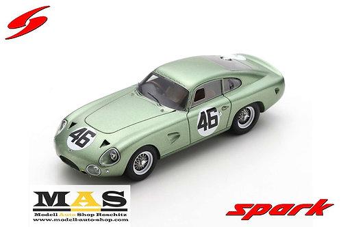 Aston Martin DP214 winner Coppa Inter Europa Monza 1963 R. Salvadori Spark 1/43