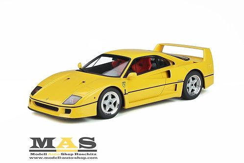 Ferrari F40 giallo 1987 GT Spirit 1/18
