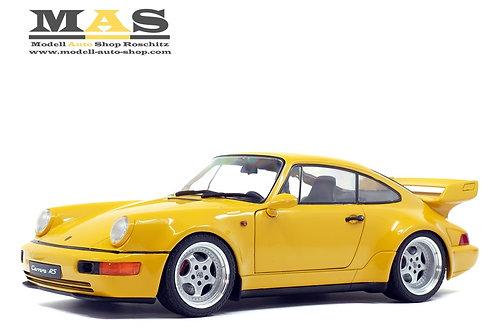 Porsche 911 (964) 3.8 RS gelb 1990 Solido 1/18