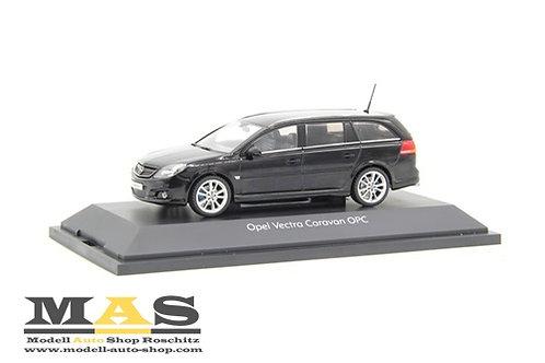 Opel Vectra Kombi OPC schwarz 1/43