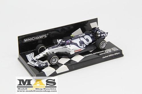 Alpha Tauri AT01 P. Gasly Austria GP 2020 Minichamps 1/43
