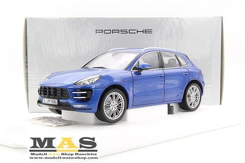 PorscheMacanTurbo 2013 blau met. Minichamps 1/18