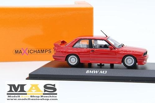 BMW M3 E30 1987 rot Minichamps 1/43