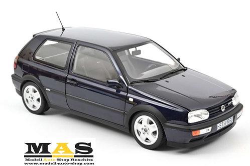 VW Volkswagen Golf VR6 1996 Blau Metallic Norev 1/18
