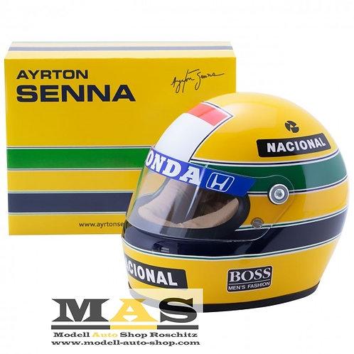 Ayrton Senna 1988 Mclaren Helm 1/2