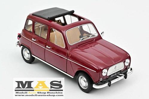 Renault 4 L 1966 dunkel rot Norev 1/18