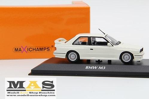 BMW M3 E30 1987 weiss Minichamps 1/43