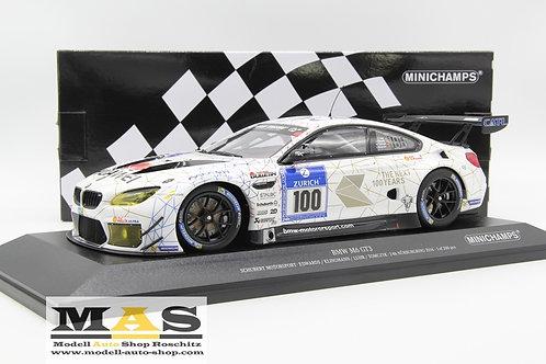 BMW M6 GT3 24h Nürburgring 2016 Edwards Kklingmann Luhr Tomczyk Minichamps 1/18