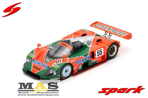 Mazda 787 B No.55 winner 24h LeMans 1991 Spark 1/18