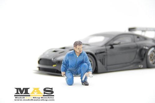Mechanic Jerry Mann Figure American Diorama 1/18
