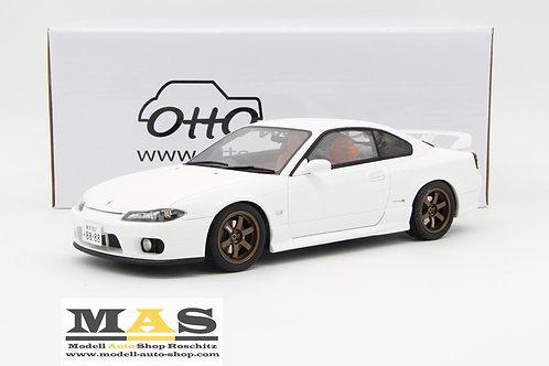 Nissan Silvia Spec-R AERO (S15) 1999 weiss Otto Mobile 1/18