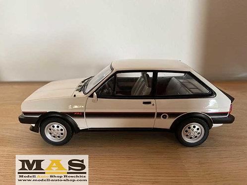 Ford Fiesta XR2 1981 weiss Norev 1/18