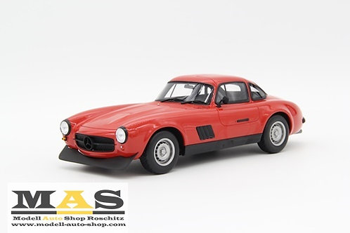 Mercedes Benz 300 SL rot 1974 Otto Mobile 1/18
