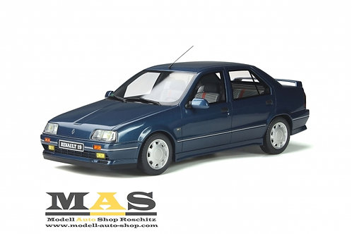 Renault 19 Chamade Phase 1 16S 1989 blau Otto Mobile 1/18