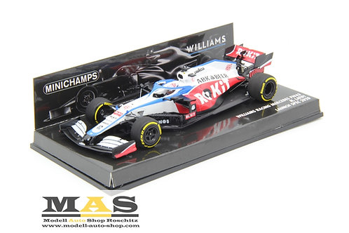 Williams FW43 N. Latifi Launch Spec 2020 Minichamps 1/43