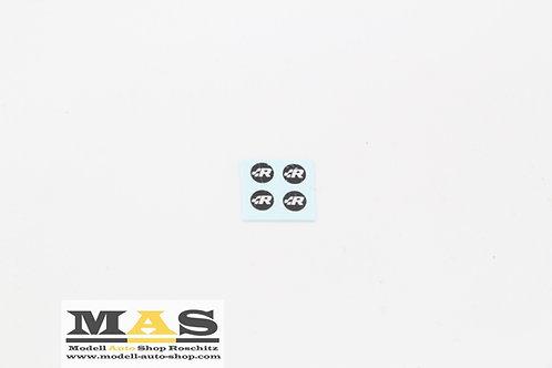 R Line Embleme Decals Felgen 1/18