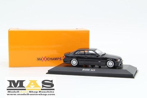 BMW M3 E36 Coupe 1992 schwarz Minichamps 1/43