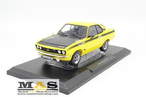 Opel Manta A GT / E 1975 giallo nero Norev 1/18