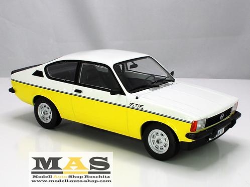 Opel Kadett GT/E 1977 - weiss gelb Norev 1/18