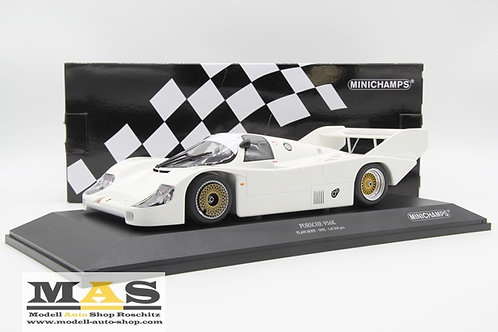 Porsche 956k Plain Body Version weiss 1982 Minichamps 1/18