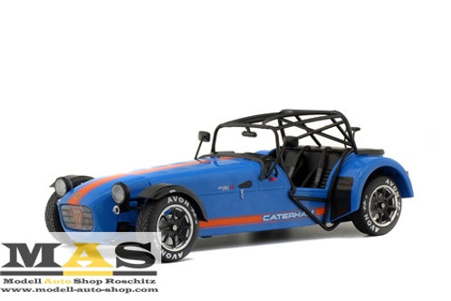 Caterham Seven 275R Academy 2017 blue/orange Solido 1/18