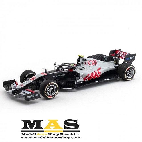 Haas F1 Team VF-20 Mick Schumacher Testfahrt Abu Dhabi 2020 Minichamps 1/43