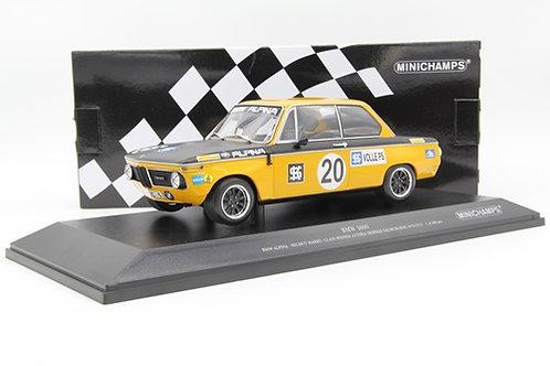 BMW 1600 Alpina H. Marko Salzburgring 1970 Minichamps 1/18