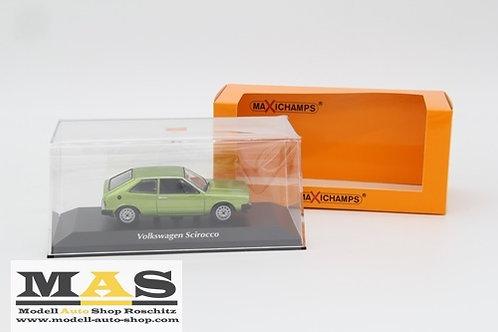 Volkswagen Scirocco 1974 Grün Minichamps 1/43