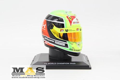 Mick Schumacher casco in miniatura 2020 Schuberth 1/4