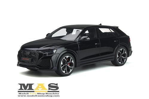 Audi Q8 RS 2020 schwarz GT Spirit 1/18