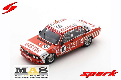 BMW 530i 24h Spa 1981 Joosen, Vermeersch, Andruet Spark 1/43