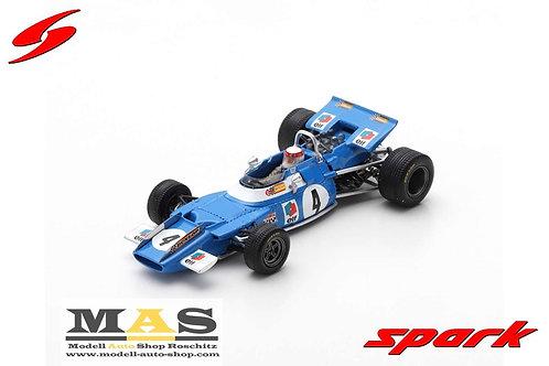 Matra MS80 J. Stewart winner Niederlande GP 1969 Spark 1/43