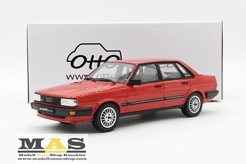 Audi 80 B2 Quattro 1983 rot Otto Mobile 1/18