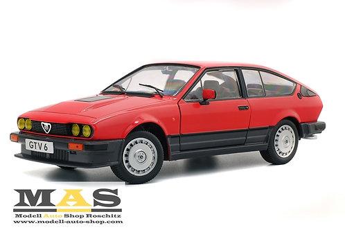 Alfa Romeo GTV6 1984 rot Solido 1/18