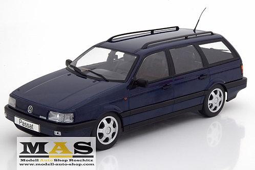 VW Passat (B3) Variant VR6 blue 1988 KK-Scale 1/18