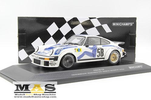 Porsche 934 Kremer Racing winner 24h Le Mans 1977 Minichamps 1/18