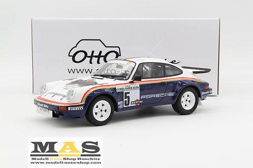 Porsche 911 SC RS Gr. B Costa Smeralda Rallye 1984 Otto Mobile 1/18
