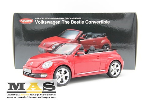 Volkswagen VW Beetle Cabrio rot Kyosho 1/18