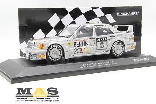 Mercedes Benz 190e 2.5-16 EVO 2  K. Rosberg DTM 1992 Minichamps 1/18