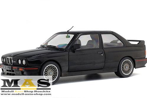 BMW M3 E30 Sport Evolution 1990 schwarz Solido 1/18