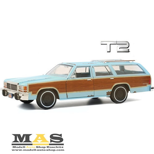 Ford LTD Country Squire 1980 Terminator 2 Movie 1991 Greenlight 1/18
