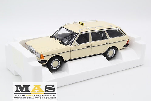 "Mercedes 200 T (S123) 1980 ""German Taxi"" Norev 1/18"