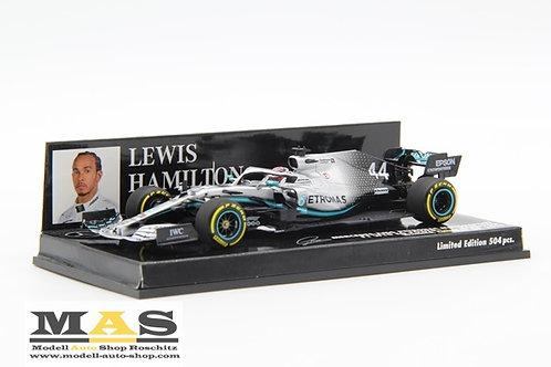 Mercedes-AMG F1 W10 L. Hamilton China GP 2019 Minichamps 1/43