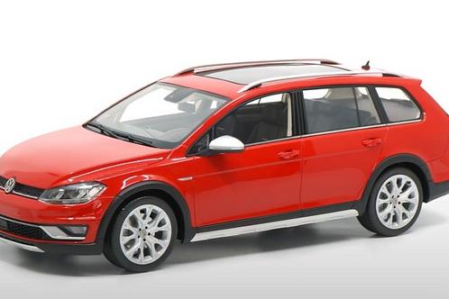 Volkswagen VW Golf 7 Alltrack 2015 Kombi rot DNA 1/18
